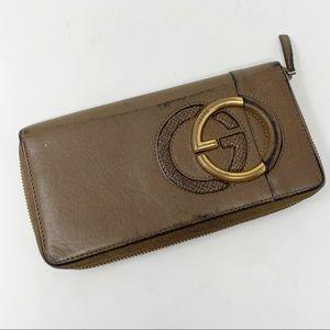 VTG Gucci Zip-Around  Wallet